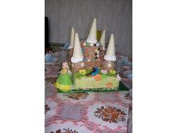 Фото торт замок