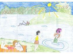 Рисунки лето