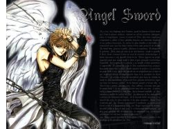 Картинки аниме ангелов