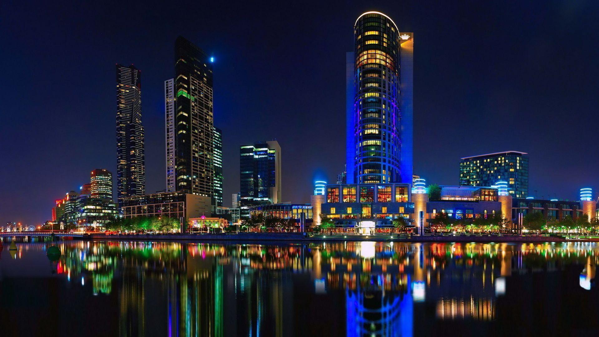 проходят красивые картинки ночной город помещения сразу