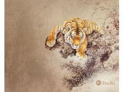 Картинки для рабочего стола тигры