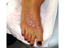 Татуировки белой краской фото