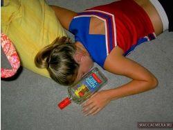 Приколы про пьяных девушек