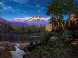 Фото зимние пейзажи природы