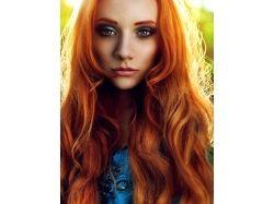 Фото рыжих цветов волос