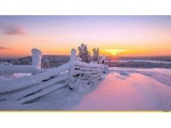 Природа зима картинки красивые