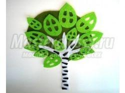 Цветок из гофрированной бумаги фото