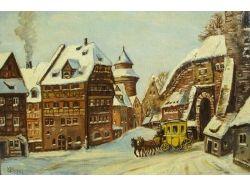 Средневековый город картинки