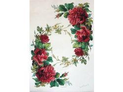 Картинки с цветами для декупажа