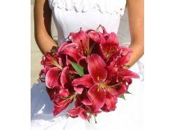 Букеты цветов фото свадебные