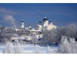 Город зимой фото
