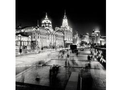 Черно белые картинки городов