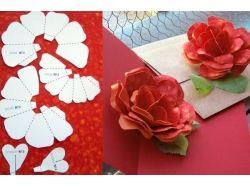 Цветы из бумаги своими руками фото