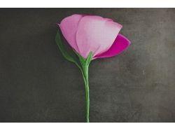 Сделать цветы из бумаги фото