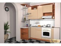 Цвет маленькой кухни фото