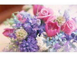 Красивые цветы в вазе картинки