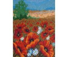 Цветок из бисера картинки