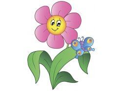 Детские картинки цветы