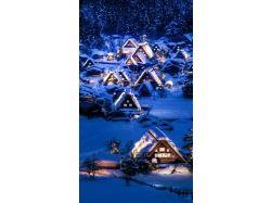 Зима картинки на телефон
