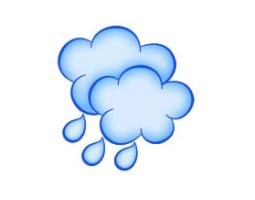 Картинки идет дождь для детей