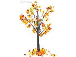 Рисунки детей на тему осень