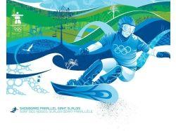 Зимние олимпийские игры рисунки