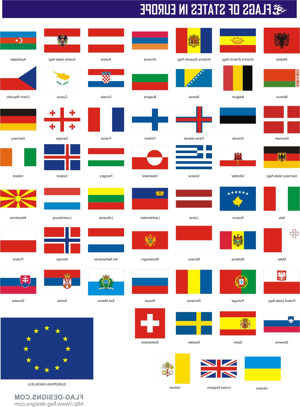 центре флаги европейских стран фото среди этнических