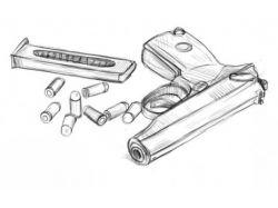 Как нарисовать оружие
