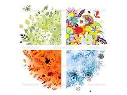 Картинки лето зима осень весна