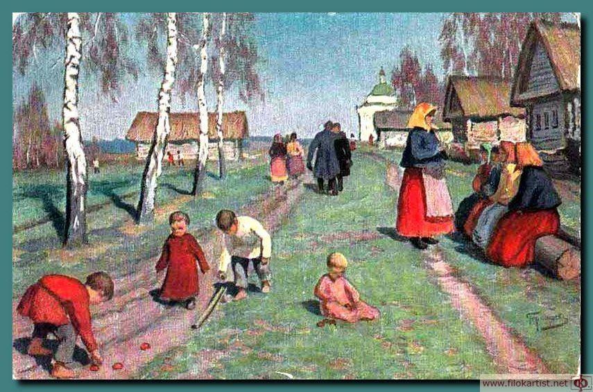 Картинка как жили люди на руси