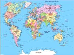 Карта мира картинки