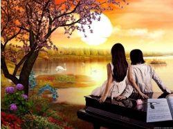 Осень картинки любовь