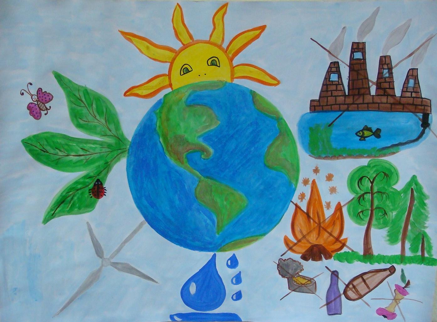 Легкие картинки на тему экология
