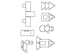Геометрические фигуры картинки распечатать для детей