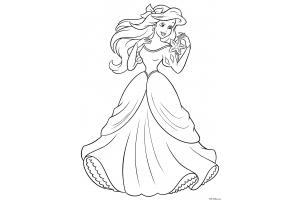 Распечатать раскраски принцессы » Скачать лучшие картинки ...