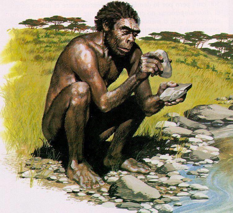 Картинка древнейший человек