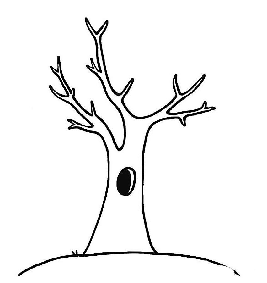Картинка дерево без листьев для детей » Скачать лучшие ...