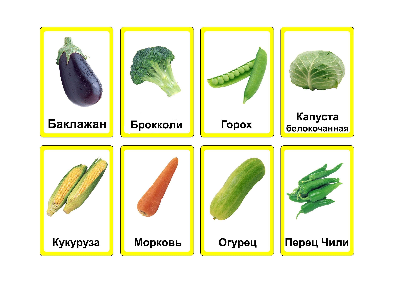 Овощи картинки для детей карточки, следует