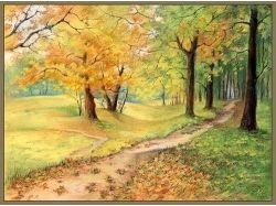 Рисунок осень 2 класс