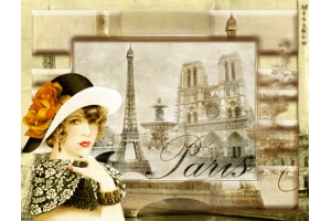 Картинки осень в париже