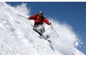 Катание на лыжах картинки