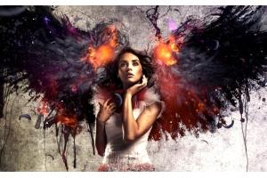Красивые картинки ангелов девушек