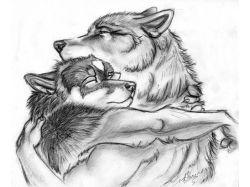 Картинки животные карандашом 5