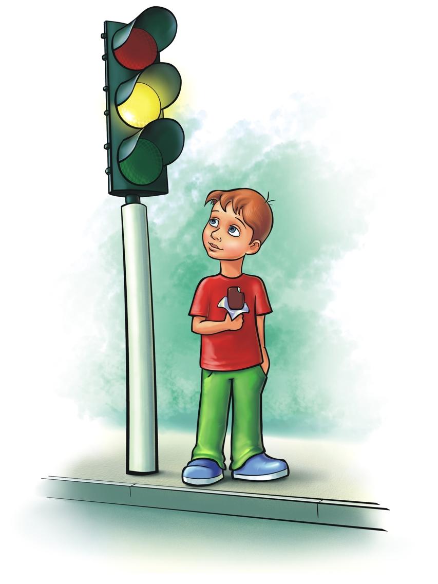 Светофоры в детских картинках