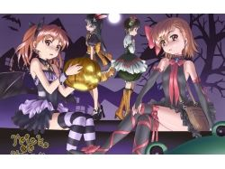 Аниме картинки хэллоуин