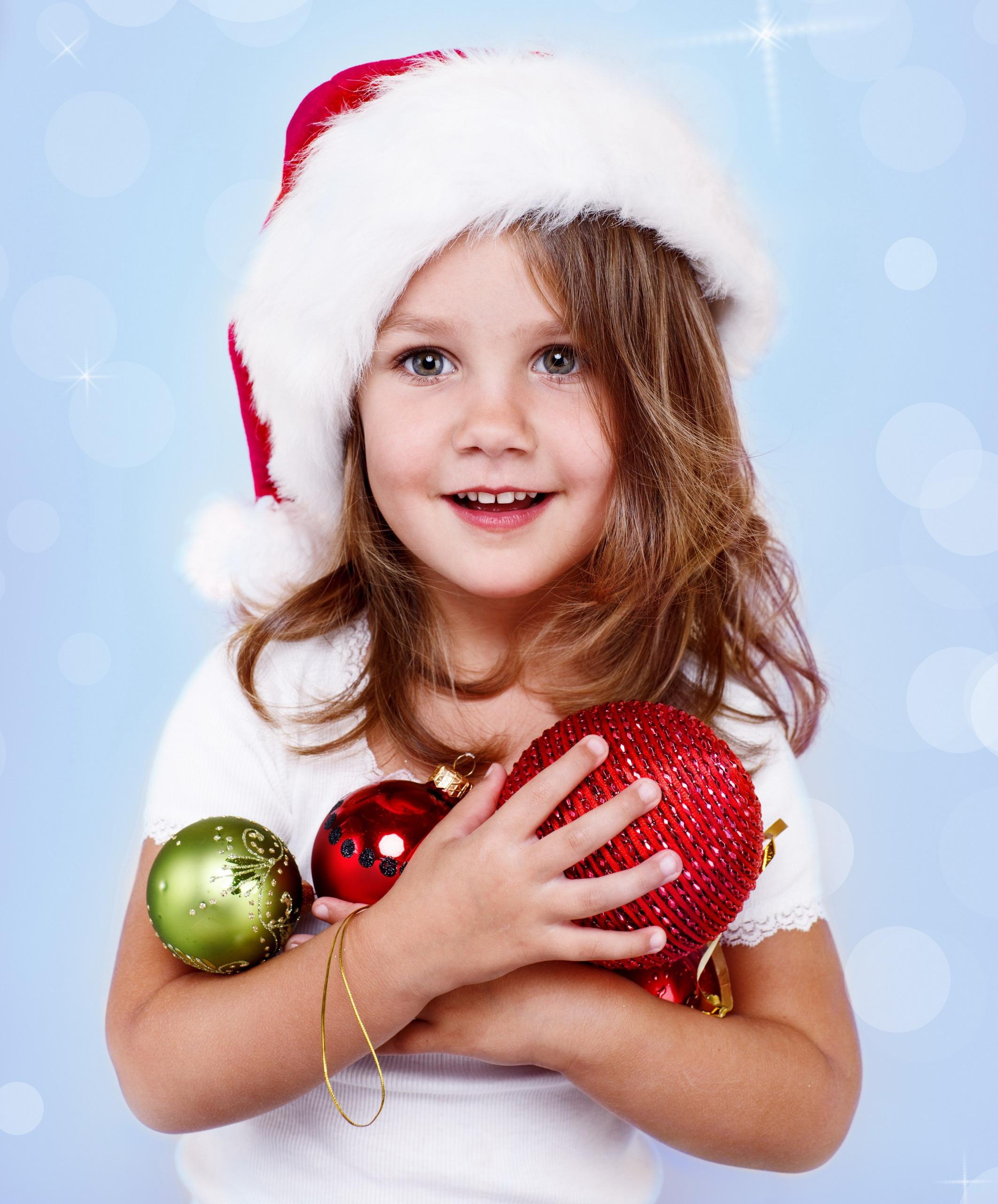 Новогодний ребенок фото