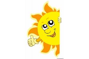 Солнышко в картинках для детей