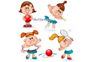 Картинки спорт и дети