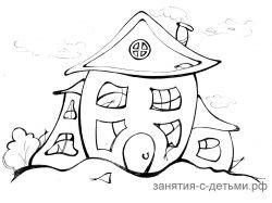 Картинки замок для детей