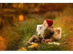 Дети и осень фото